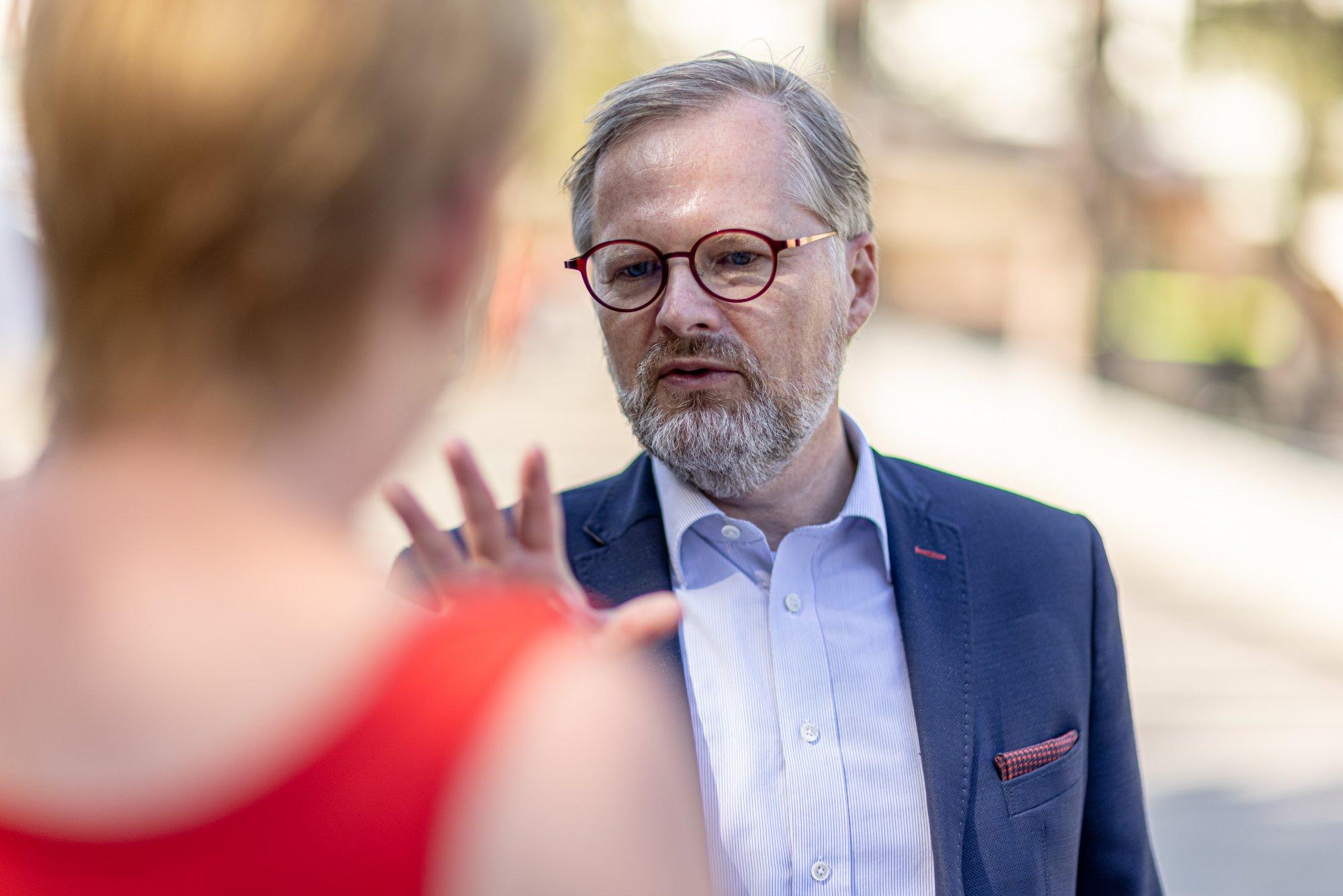 Petr Fiala: Zlepšíme důchody a zajistíme je i pro mladé