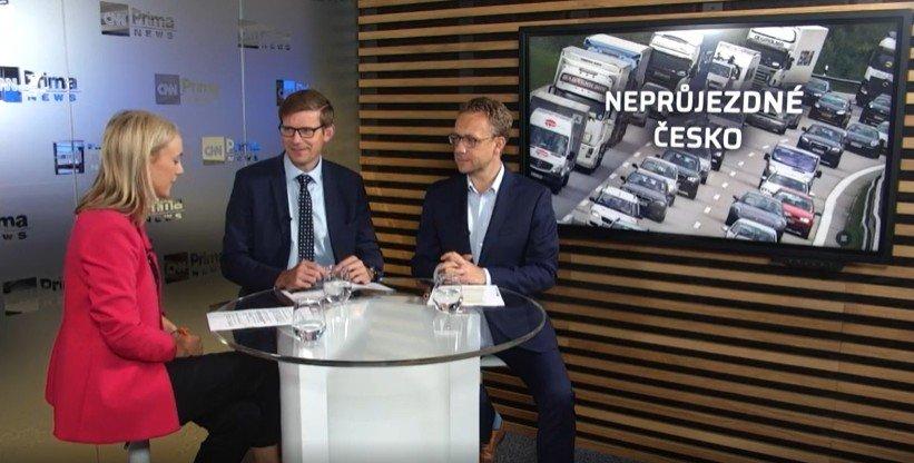 CNN Prima News: Dostavit pražský okruh a dálnici D35. To jsou priority silniční dopravy
