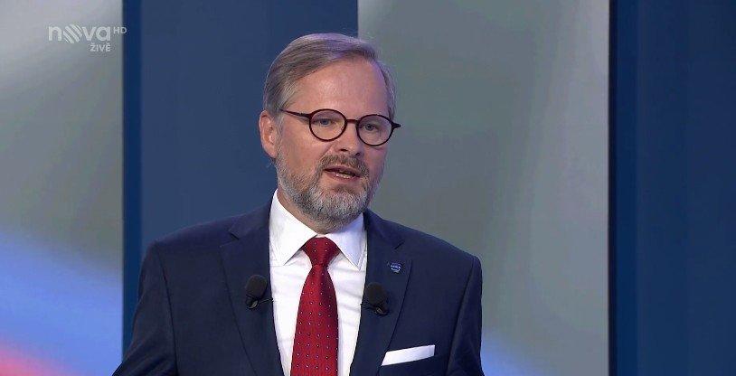 Petr Fiala: Předvolební superdebata TV Nova
