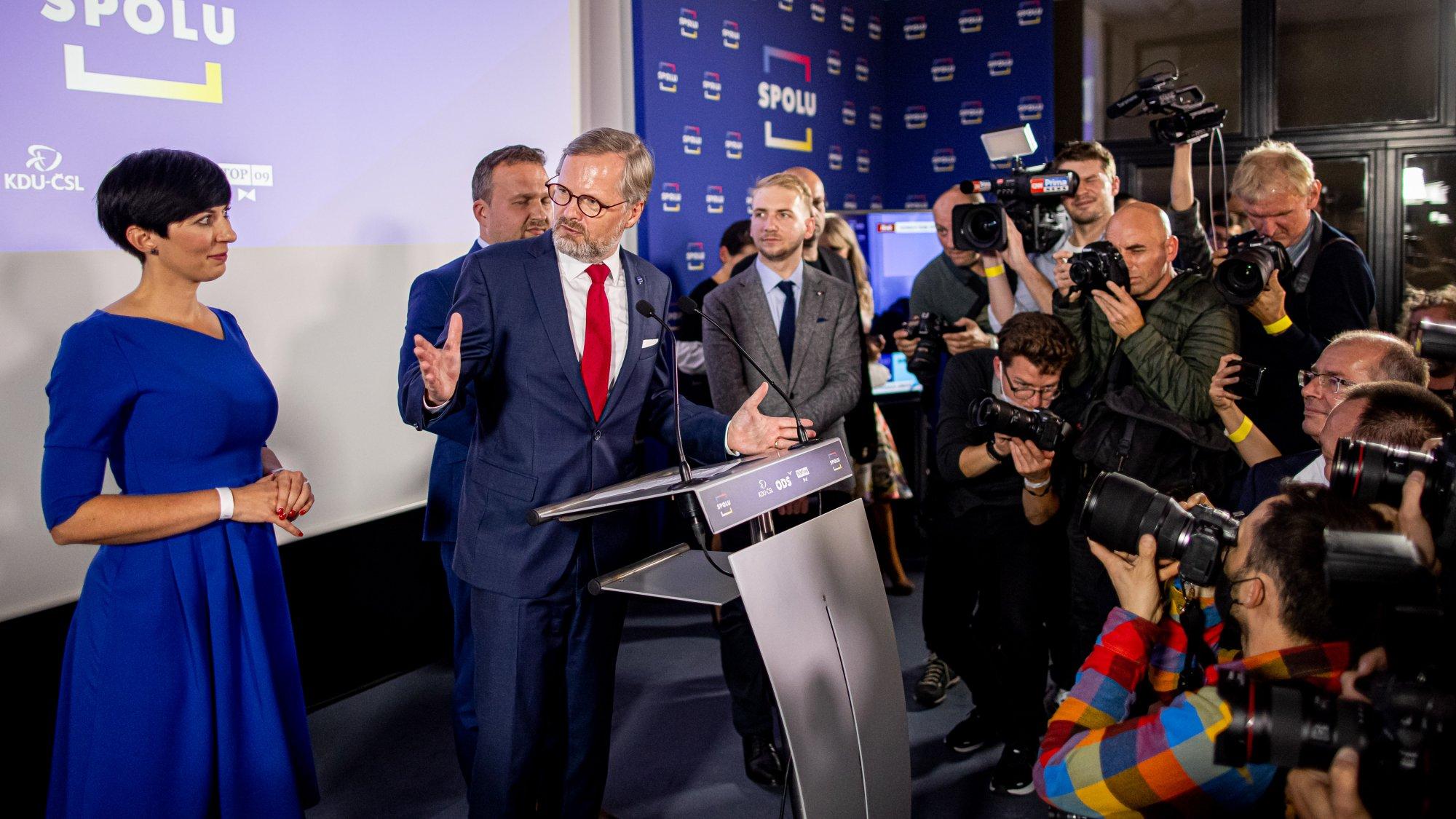 Petr Fiala: Rozhodli voliči a já bych jim všem chtěl poděkovat