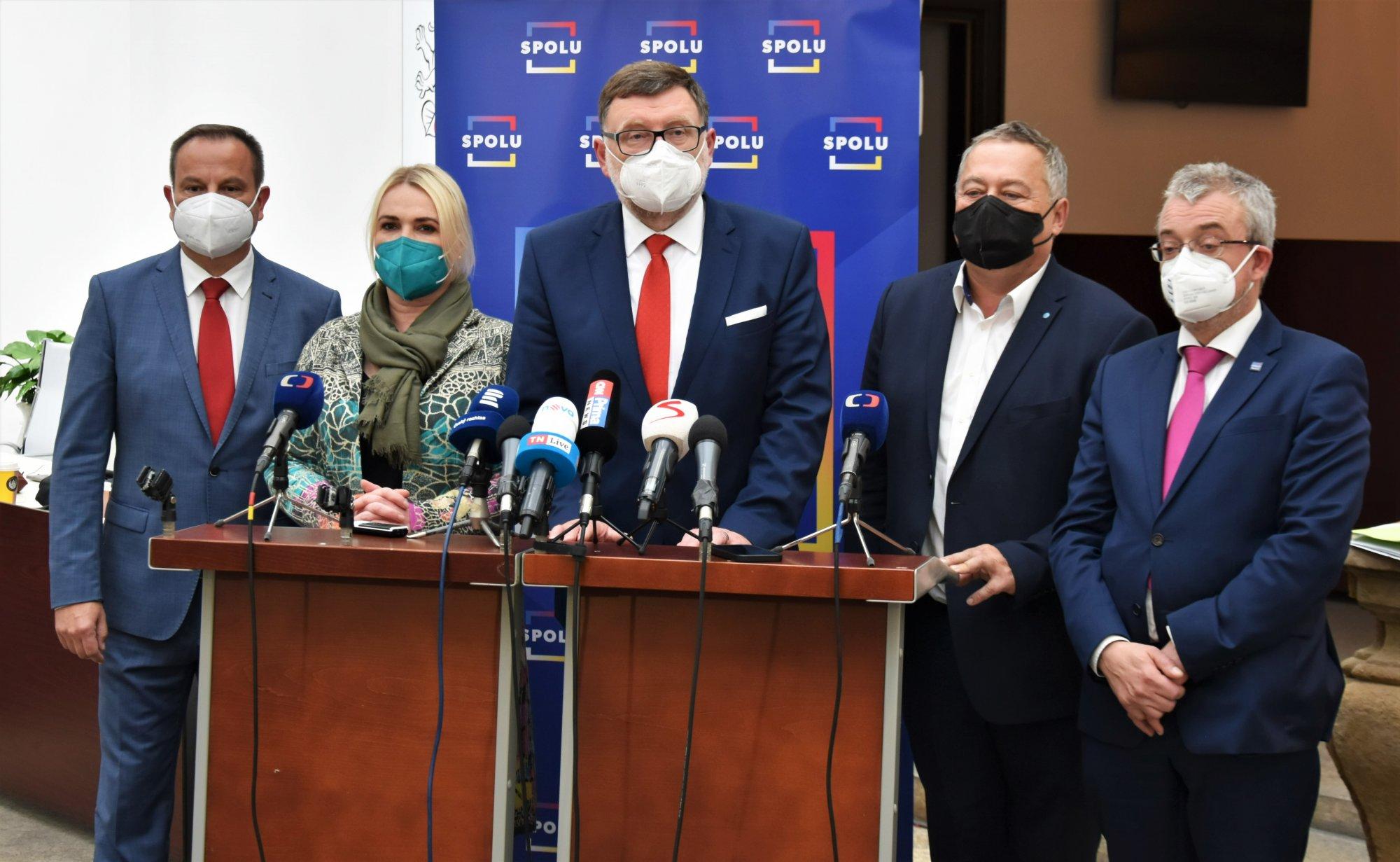 ODS: Na ustavujícím jednání poslaneckého klubu ODS si poslanci zvolili nové vedení