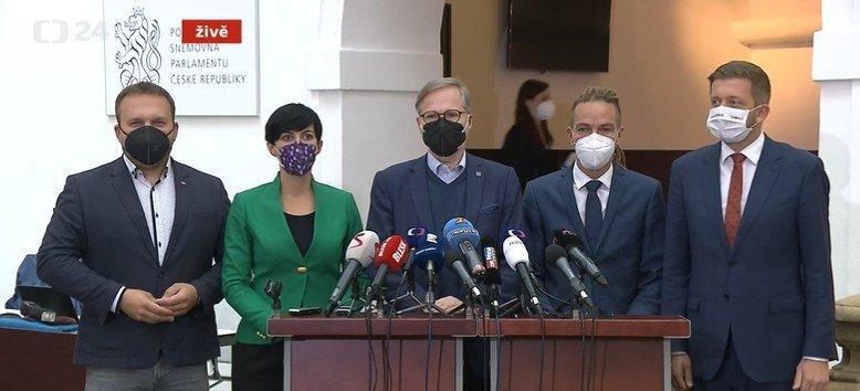 Koalice SPOLU: Nejpozději 8. listopadu chceme podepsat koaliční smlouvu