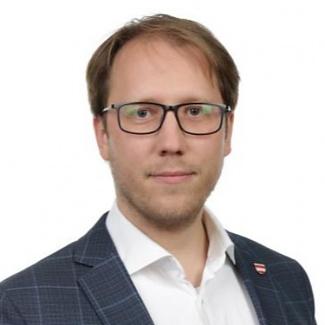 Kandidát koalice SPOLU Filip Chvátal (KDU-ČSL) pro Jihomoravský kraj pro volby do PS ČR 2021.