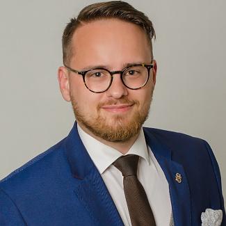 Kandidát koalice SPOLU Jakub Ozaňák (ODS) pro Ústecký kraj pro volby do PS ČR 2021.