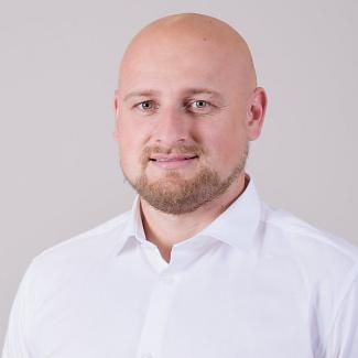 Kandidát koalice SPOLU Jiří Baštář (ODS) pro Jihočeský kraj pro volby do PS ČR 2021.