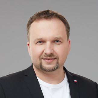 Kandidát koalice SPOLU Marian Jurečka (KDU-ČSL) pro Olomoucký kraj pro volby do PS ČR 2021.