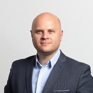 Kandidát koalice SPOLU Martin Křovina (ODS) pro Královéhradecký kraj pro volby do PS ČR 2021.