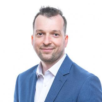 Kandidát koalice SPOLU Martin Leška (TOP 09) pro Plzeňský kraj pro volby do PS ČR 2021.