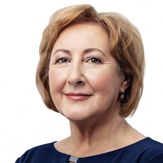 Kandidát koalice SPOLU Oľga Haláková (KDU-ČSL) pro Karlovarský kraj pro volby do PS ČR 2021.